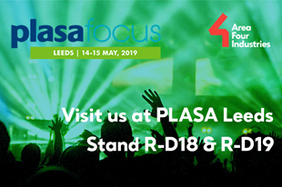 Visit us at PLASA Leeds